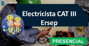 Electricista CAT 3 ERSEP