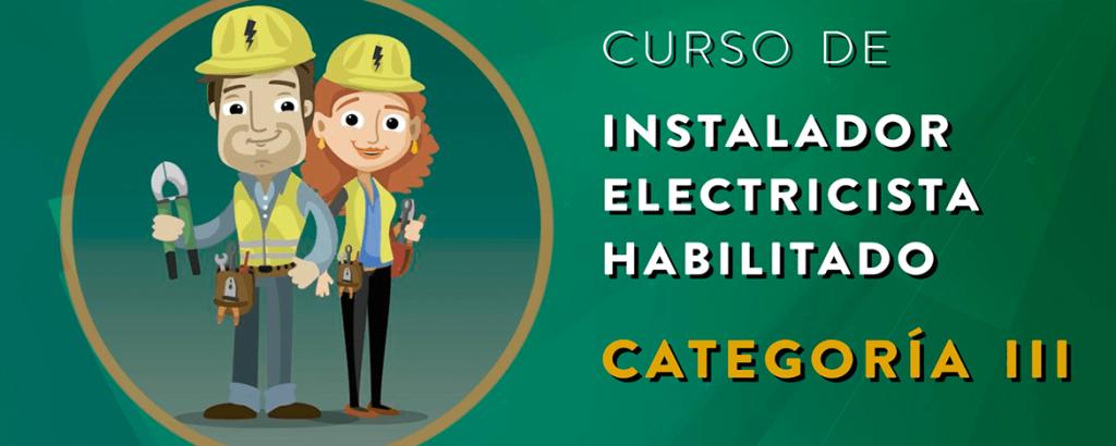 Curso de electricista matriculado